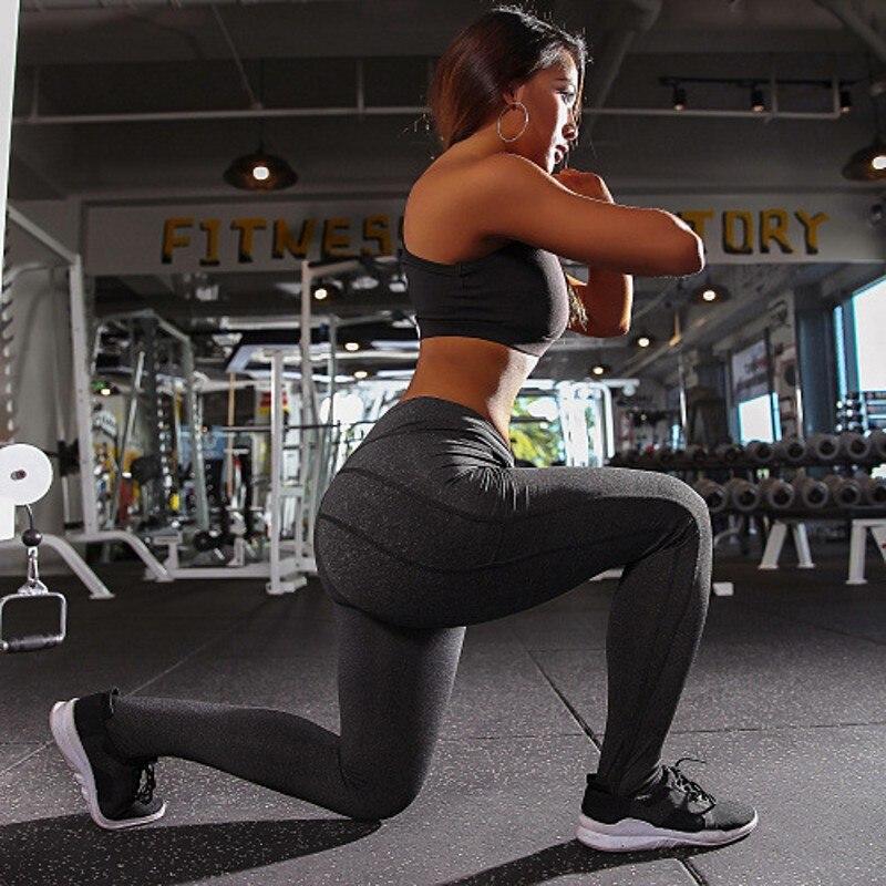 Female Push up Cross V waist leggings women sportswear New athleisure bodybuilding ruched legging fitness clothes sporty jegging