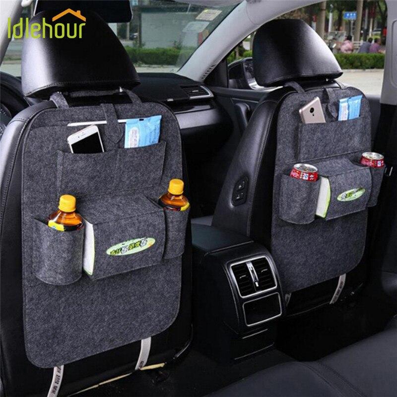 Car seat storage bag Hanging bags car seat back bag Car child safety seat car steat back bag Multifunction storage box