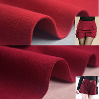 1 5m Wide Woolen Cloth Fabric Thickening Faced Sanded Sheep Trophonema Woolen Solid Color Wool Clothes