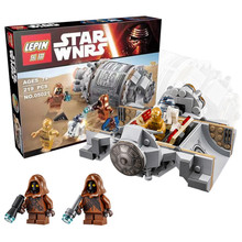 LEPIN 05021 Star Wars Droid Escape Pod 75136 Minifigure Building Blocks Set Bricks Toys The Force Awakens Compatible With Gift
