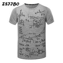 Fashion School Formula t-shirts Men's Brand New fitness T-Shirt Student T Shirt Loose Fit O neck xxxtentacion Tops Tees TX87-E