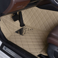 Wholy Surrounded Car Floor Mats For Cadillac SRX Special Xpe Leather Pads SUV Removable Mat Environmental