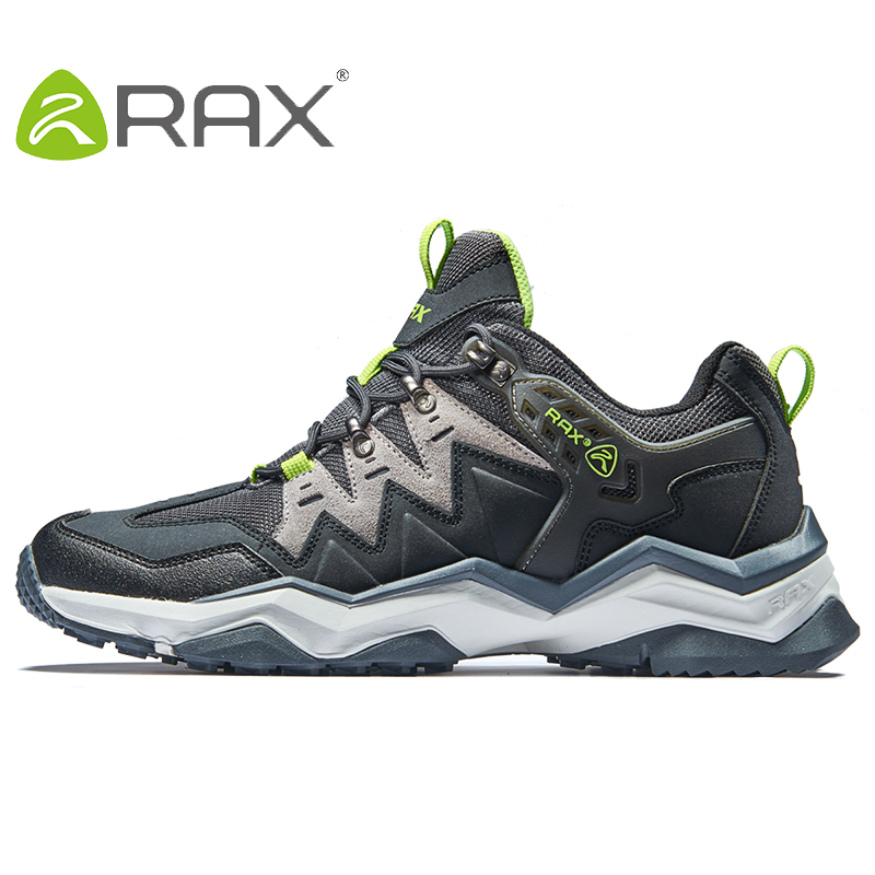 Rax Men Hiking Shoes Non-slip Climbing Hiking Shoes Original Tourism Sneaker Outdoor Waterproof Trekking Shoes Plus Size 39-45 ...
