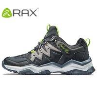 Rax Men Hiking Shoes Non slip Climbing Hiking Shoes Original Tourism Sneaker Outdoor Waterproof Trekking Shoes Plus Size 39 45