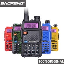 Baofeng UV-5R Walkie Talkie Dual Band Professional 5W UV 5R Ham Two Way Radio UV5R Handheld Hunting Radio Station HF Transceiver цена
