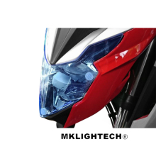 For HONDA CB650F CBR650F CB500X 2017-2018 Motorcycle Acrylic Headlight Screen Protecter Lens Cover