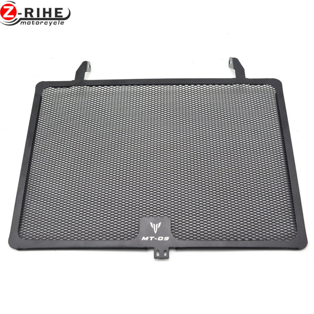 For Yamaha MT-09 MT09 MT FZ 09 FZ09 FZ-09 13 14 15 XSR900 2016 Motorcycle CNC Stainless Steel Protective Guard Radiator Grille 13 10 900