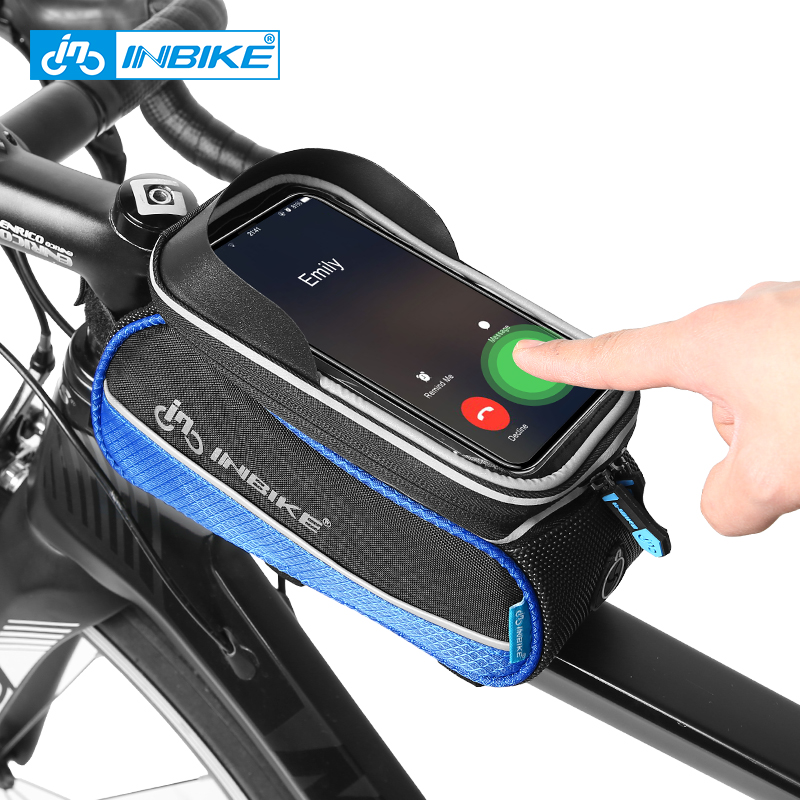"B-SOUL Cycling Bicycle Frame Front Tube Bags Case For 6.0/"" Cell Phone CA"