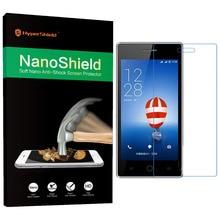Нанощит nano керамический + тпу мягкая нано анти-шок анти-уф мобильного телефона экран протектор защитная пленка для coolpad 7105