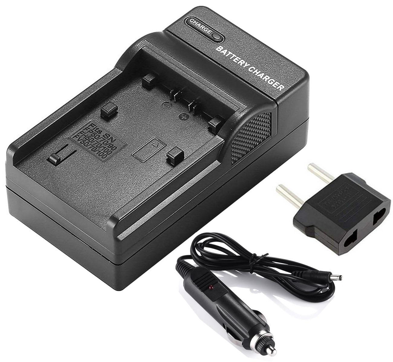 LCD USB Battery Charger for Sony DCR-DVD105 DCR-DVD305 DCR-DVD405 DCR-DVD205 DCR-DVD505 Handycam Camcorder