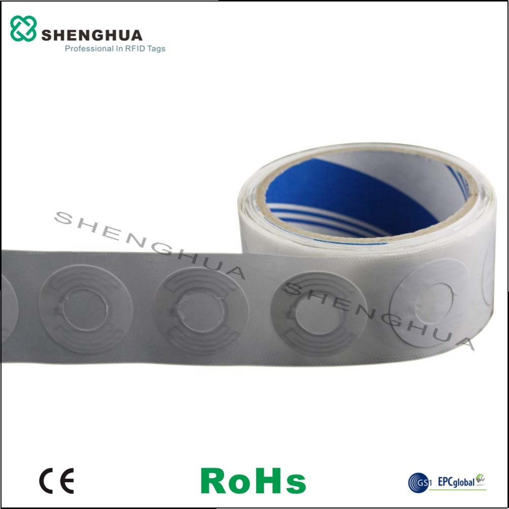 10pcs/pack High Performance RFID Disc Label Tag CD Sticker Blank Paper For Self Management Library Database Mangement