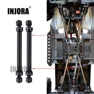 Image 1 - 2 قطعة 112 152 مللي متر المعادن الصلب العالمي محرك CVD رمح ل RC الزاحف سيارة SCX10 90046 D90 RC السيارات جزء اكسسوارات