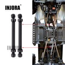 2 個 112 152 ミリメートル金属鋼ユニバーサルドライブ cvd シャフト rc のクローラ車 SCX10 90046 D90 rc 車パーツアクセサリー