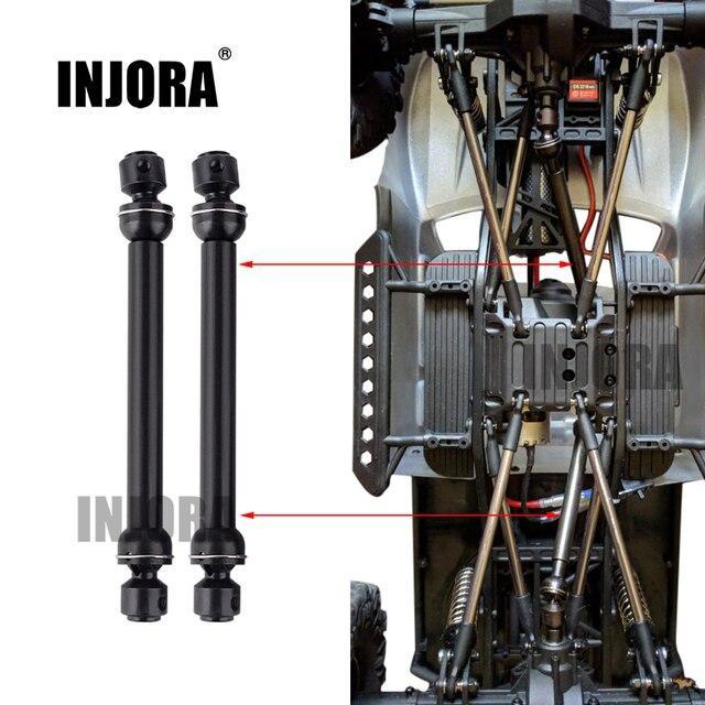 Универсальный приводной вал CVD для радиоуправляемого гусеничного автомобиля, 2 шт., 112 152 мм, SCX10 90046 D90, Аксессуары для автомобилей