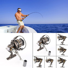 DK12+1 1000-6000 Metal Front Drag Spinning Fish Carp Reel Fishing Tackle free shipping