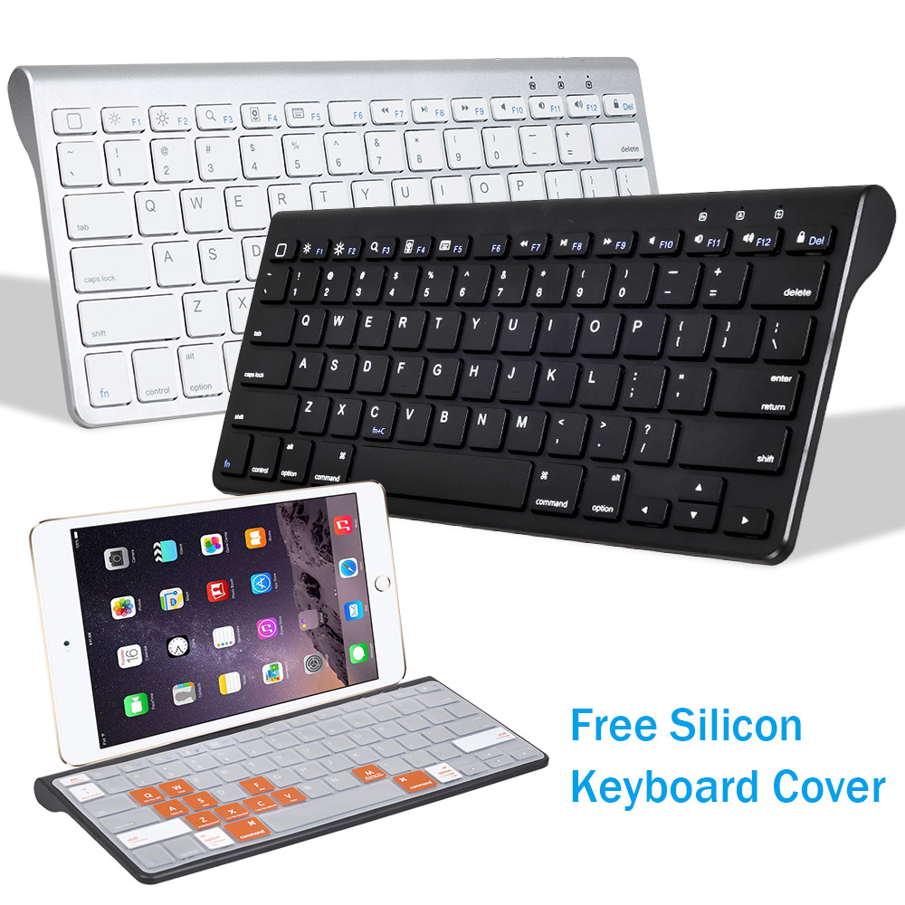 Mini Bluetooth Keyboard For Phone IPad 2017 For Smart TV Wireless Keyboard For Android Tablet