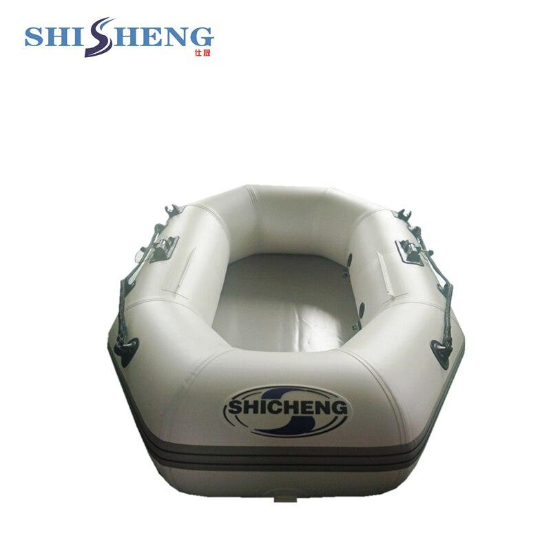 Bateau gonflable de haute qualité d'aéroglisseur de PVC/petit bateau gonflable de pêche