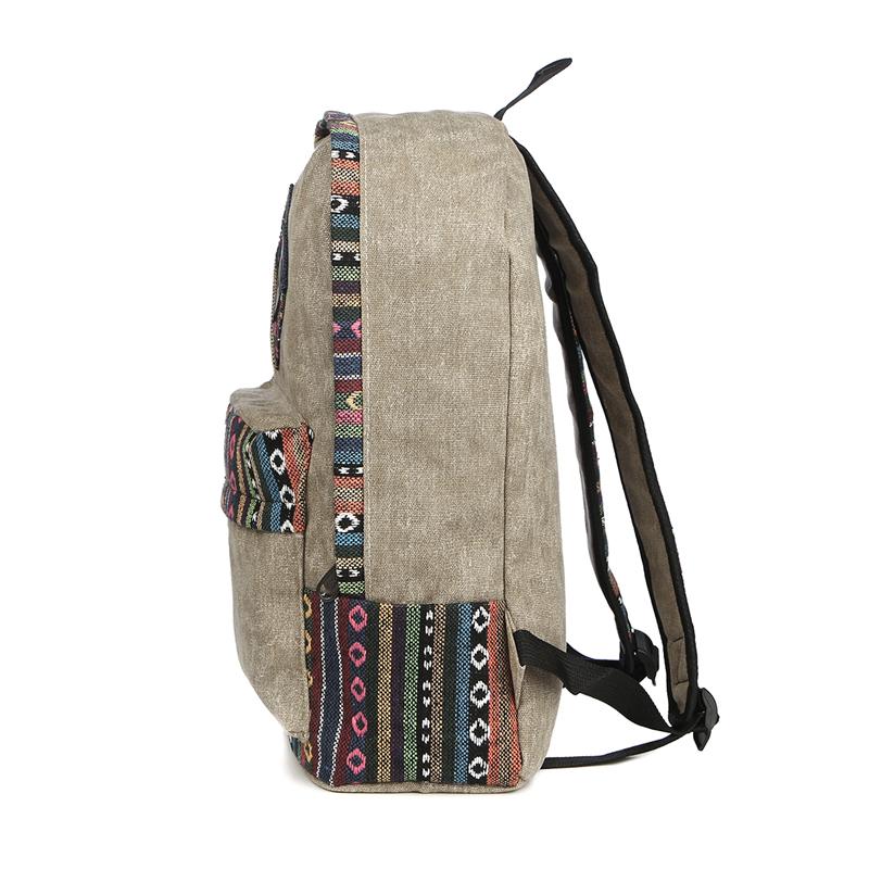 Vintage School Backpack 16
