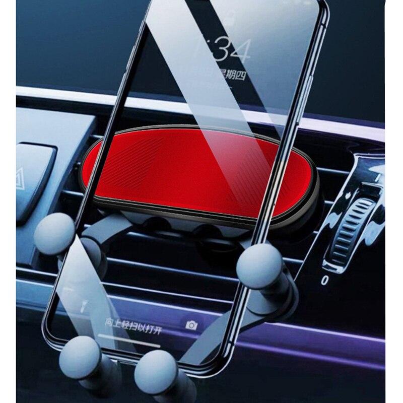 Support téléphone Voiture Smartphone Voiture Support Mobile Voiture Ventilation Support de montage Support pour téléphone Voiture