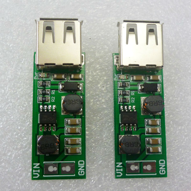 Purposeful Dd1205ua_u*2 2pcs 1-6v To 5v Boost Buck Dc-dc Step Up Down Converter Usb Power Supply For 18650 Solar Panel