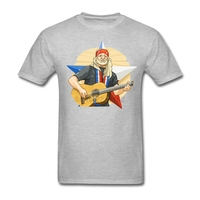 Mens Willie Nelson T Shirt Rock N Roll Art Pink Shirts For Men Find Near Me