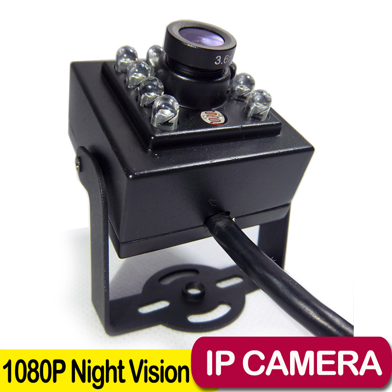 1080P MINI IR Camera 10pcs 940nm Ir Leds Infrared cam night vision suport Onvif MINI IR