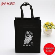 Recycle non woven bag with custom logo MOQ 500PCS help arrange artwrok free