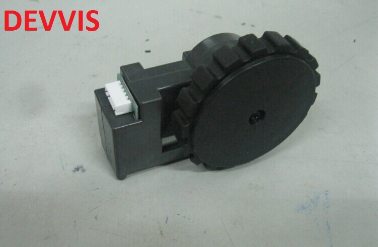 (For QQ6) Left & Right Wheel Assembly for Robot Vacuum Cleaner QQ6 With 1*Left Wheel Assembly + 1 Right Wheel Assembly
