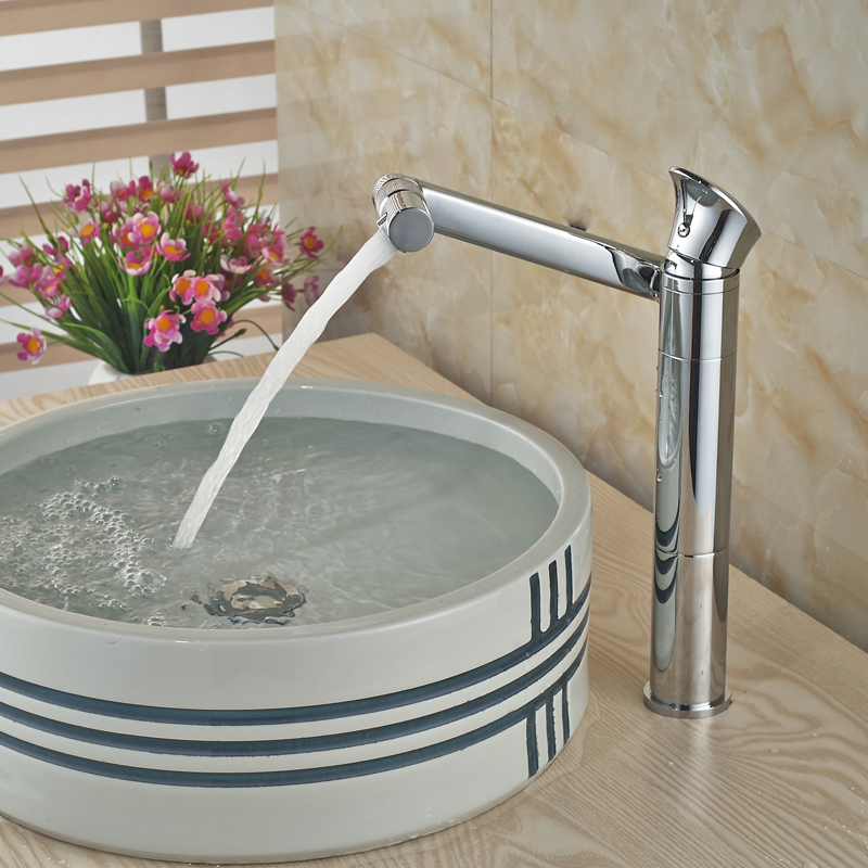Multi-functions Bathroom Kitchen Faucet Single Handle Brass Chrome Swivel Rotation Basin Mixer Taps pedotransfer functions