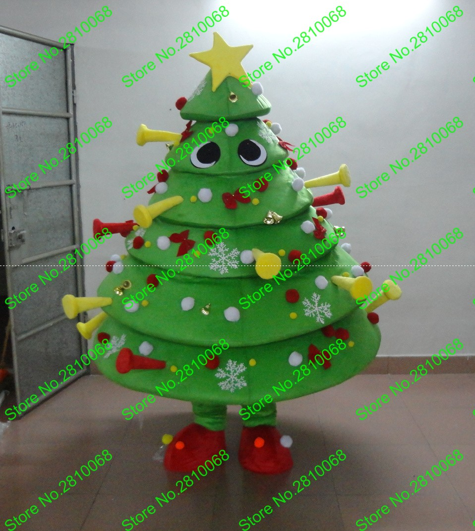 Making christmas ornaments with crayons - Qianyiduoo Make Eva Material Snow Christmas Tree Mascot Costumes Crayon Cartoon Apparel Birthday Party Masquerade 969