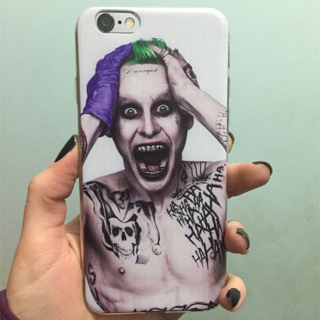 iPhone 6/6S Case Suicide Squad Gel Skin Protective Cover