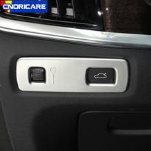 Приборной панели автомобиля регулировки рамка украшения крышка отделка ABS для Volvo XC90 S90 V90CC 2016-18 подкладке изменение наклейки