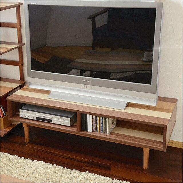 Yi Nordic casa de madera maciza mueble TV pequeño apartamento sala ...