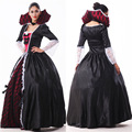 Adult Costume Halloween Women Black color Witch Cosplay Halloween Costumes for Lady Ghost Bride Masquerade Party Queen Clothes