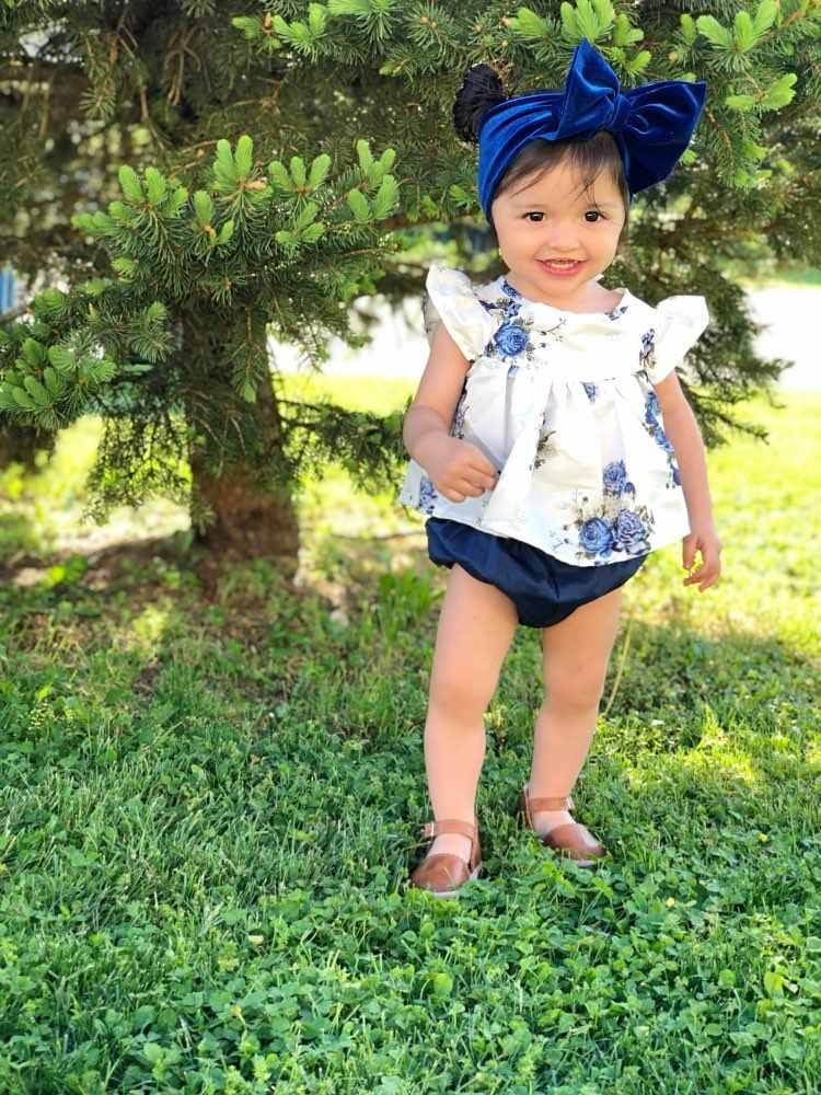 Muqgew для новорожденных для маленьких девочек Костюмы 2 шт. футболка с цветочным принтом платье Топ и шортики, комплект одежды на выход; богемный комплект, roupa infantil ropa bebe