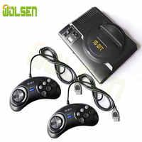 WOLSEN Mini Video TV gioco 16 Bit console di USCITA AV Super Mini Palmare Console di Gioco costruito in 208 giochi
