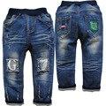 6154 ребенок джинсовые брюки детские джинсы мальчиков джинсы детские брюки мягкие и стиральная не увядает мальчик мода новый