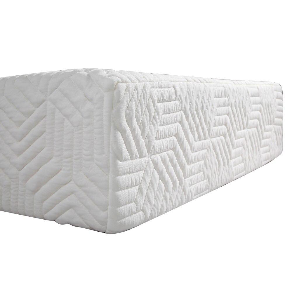 10 trois couches Cool moyenne haute douceur coton matelas avec 2 oreillers blanc10 trois couches Cool moyenne haute douceur coton matelas avec 2 oreillers blanc
