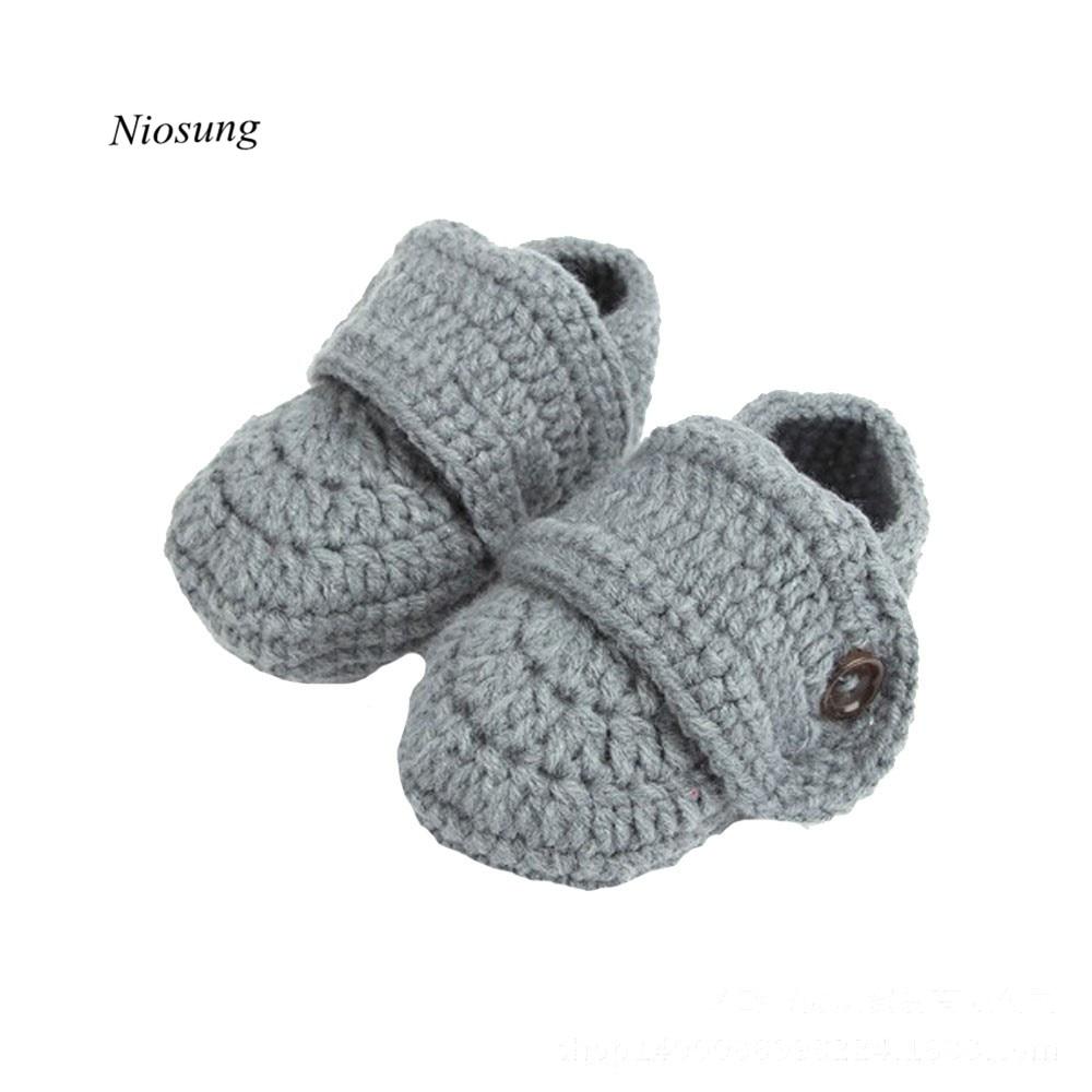 Cute Kids Baby Crib Crochet Casual Baby Handmade Woolen Knit Sock Infant  children First Walker Shoes - Popular Kids Woolen Socks-Buy Cheap Kids Woolen Socks Lots From