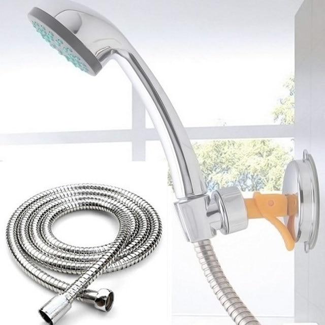 2M Flexible Shower Hose Stainless Steel Bathroom Heater Water Head ...