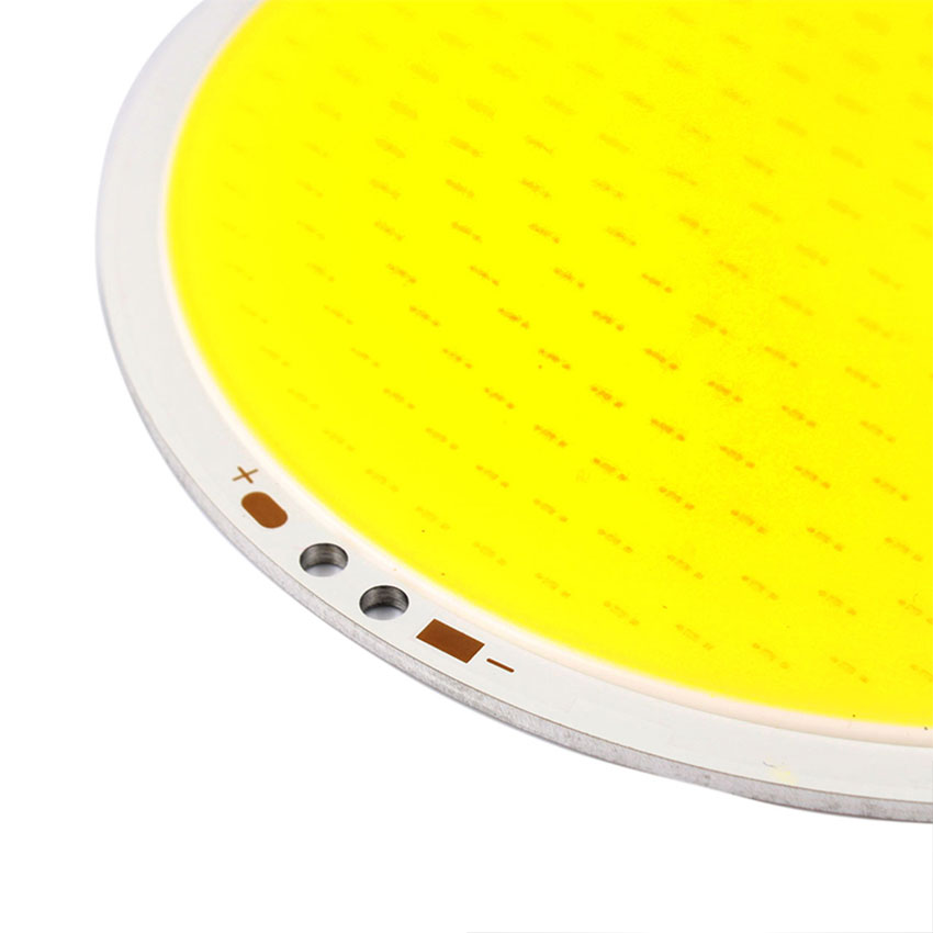 DC 12V 50W High Power 5000LM Ultra Bright 11cm Round COB LED Chip On Board Lamp Pure White Bead Light for DIY (2)