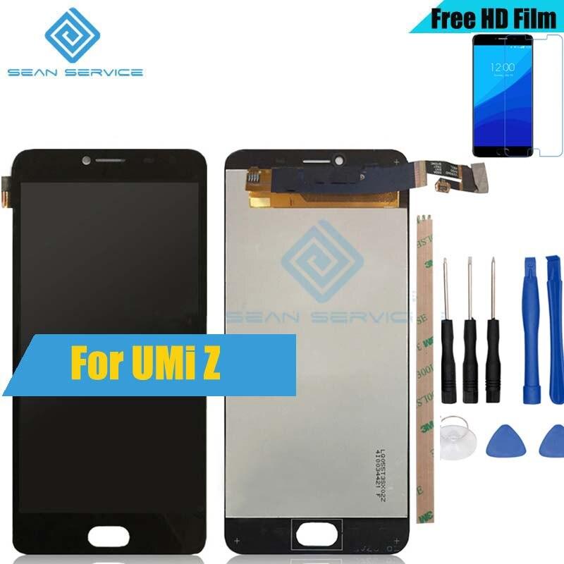 Pour D'origine UMi Z/Z Pro LCD Display + TP Écran Tactile Digitizer Assemblée 5.5 1920x1080 P 100% Testé en Stock