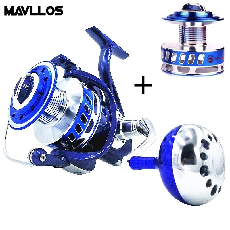 Mavllos Saltwater Slow Jigging Fishing Reel 7000 9000 13BB Surf Spinning Reel Max Drag 30kg Sea Waterproof Boat Fishing Reels haibo professional saltwater spinning fishing reel 5000 6000 7000 8000 9000 7bb 4 9 1 surf casting reel trolling jigging wheel