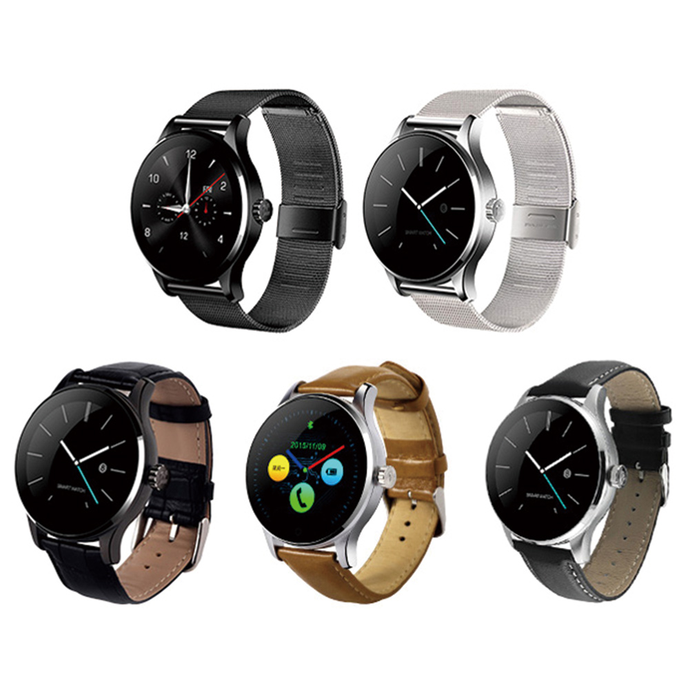 Sports Smart Watch Phone Remote Camera Clock Metal Smart Bluetooth Watch Heart Rate Monitor for Android IOS dm360 smart wrist watch waterproof heart rate monitor bluetooth ips smart watch remote music alarm clock for ios