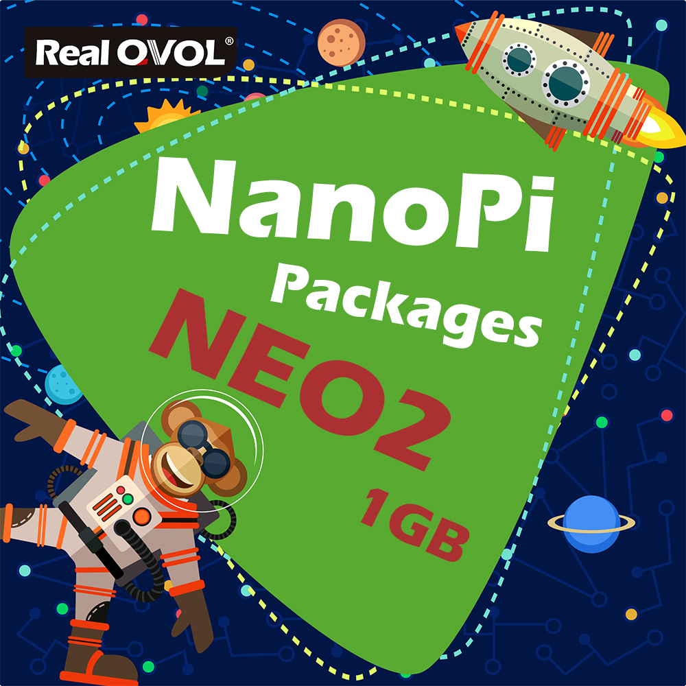 US $60 98  RealQvol FriendlyARM NanoPi NEO2 Kit Package 1GB DDR3 RAM,Run u  boot,Ubuntu Core Xenial ARM Cortex A53-in Demo Board from Computer & Office