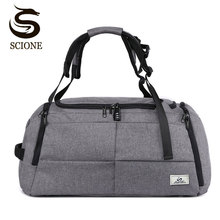 Scione Special Multifunction Men Travel Bags Anti Theft Male Bag Duffel for Man Large Capacity Shoulder Handbag