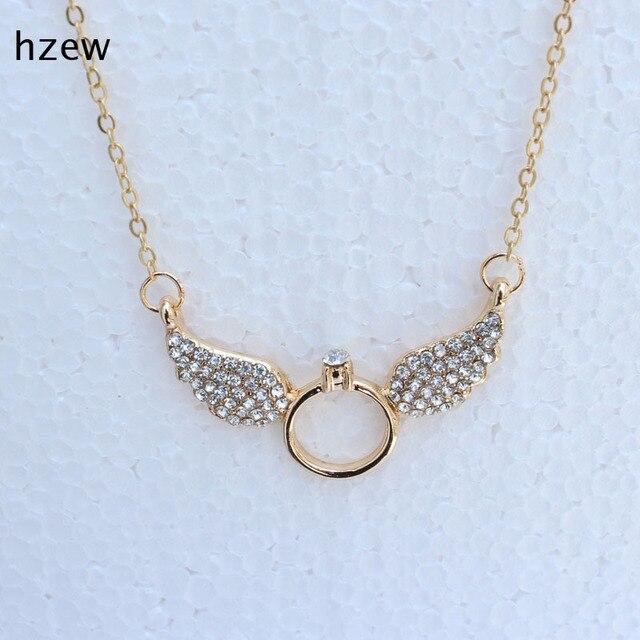Angel wings pendant necklace brand lovely necklaces for friend angel wings pendant necklace brand lovely necklaces for friend sister gift fashion jewlry aloadofball Choice Image