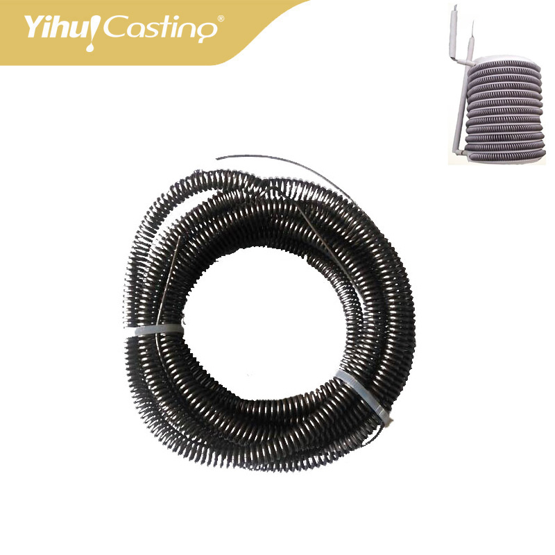 1kg and 2kg 220V yihui casting Furnace heating coil for electric Furnace heating wire