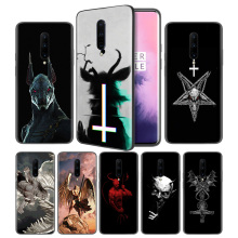 Lucifer Satan Angel Devil Soft Black Silicone Case Cover for OnePlus 6 6T 7 Pro 5G Ultra-thin TPU Phone Back Protective