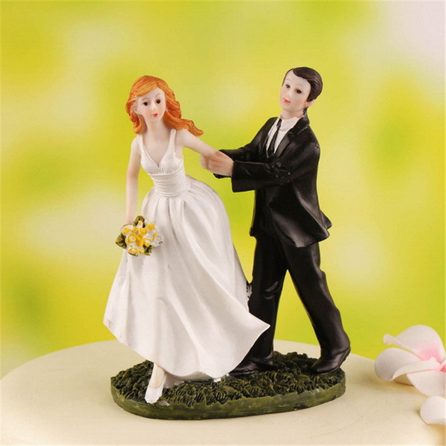 Funny Wedding Cake Topper. Trendy Love You To The Moon And Back Gold ...
